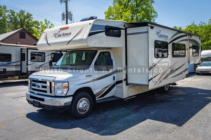 Simple 2018 Coachman Freelander 28BH  Atlanta RV Rentals