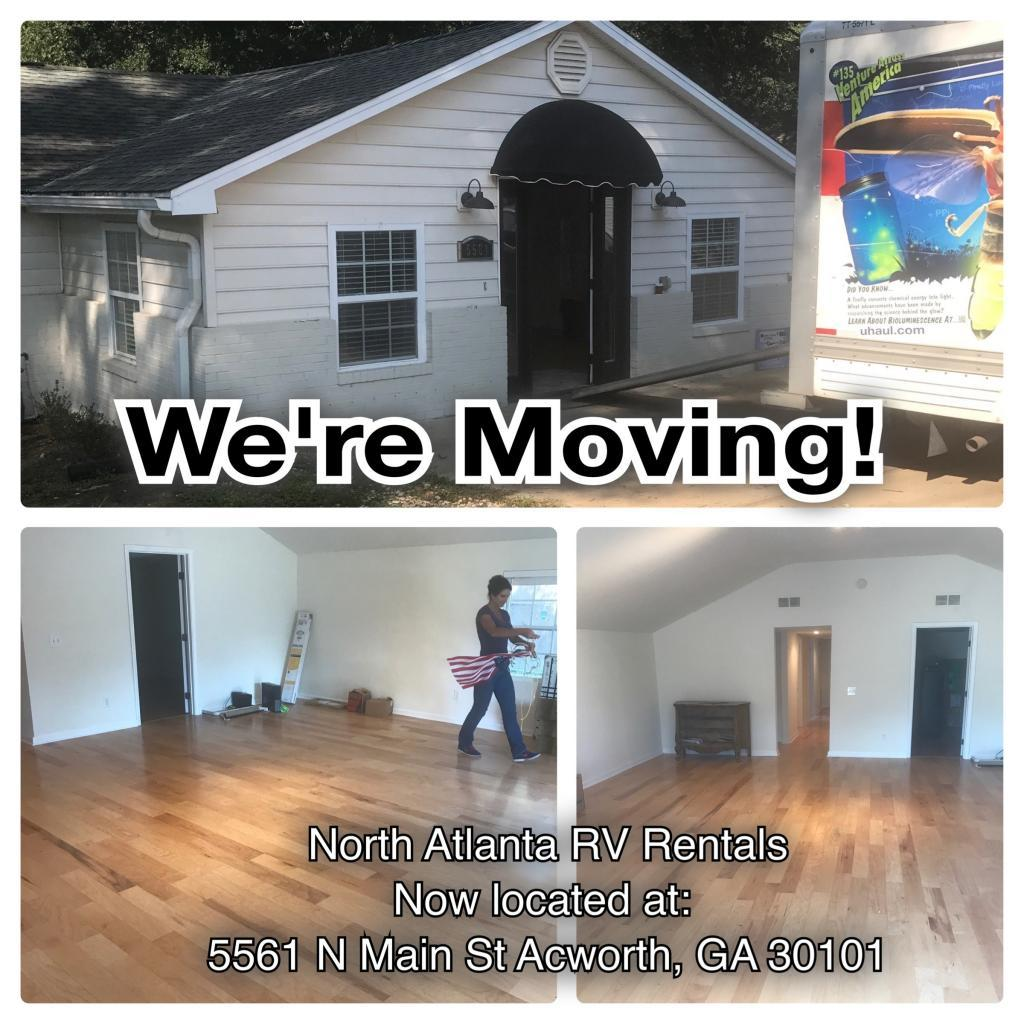 we're moving new location