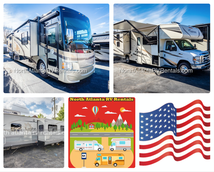 RV Rentals and Travel Trailers | North Atlanta RV Rentals